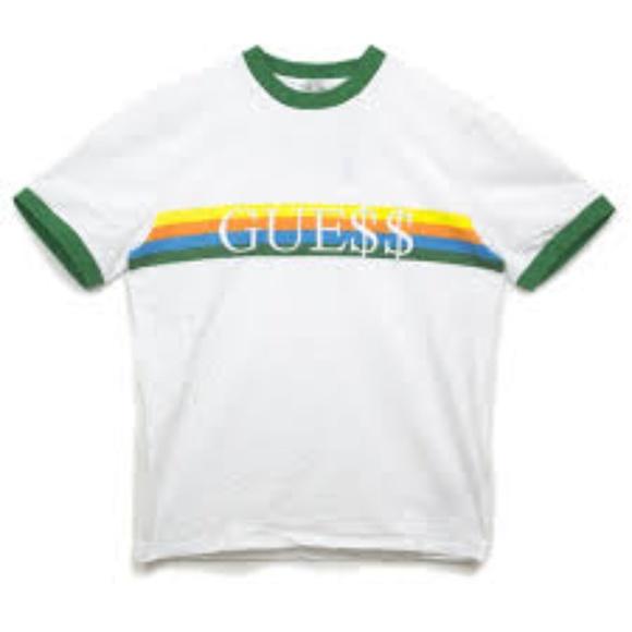 2c4137860c4f Guess Shirts | Asap Rocky Blue Ringer T Shirt | Poshmark